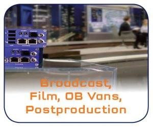 KVM Extender, Broadcast